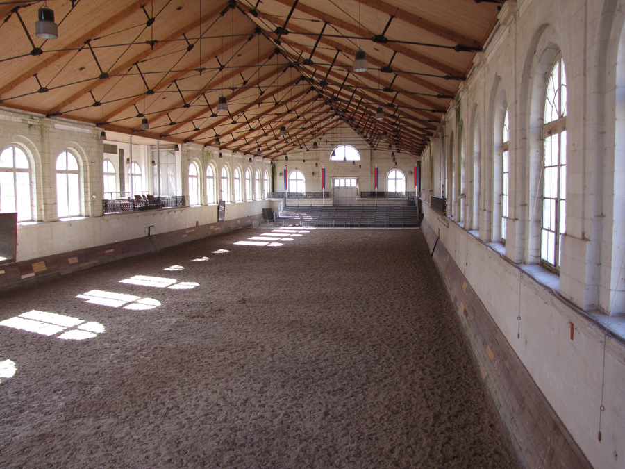 200 year old limestone riding arena