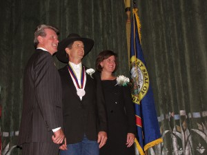 Governor Butch Otter, First Lady Lori Otter